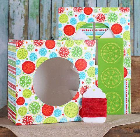 Modern Christmas Cookie Box Kit | www.bakerspartyshop.com