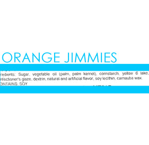 Orange Jimmies Sprinkles | www.bakerspartyshop.com