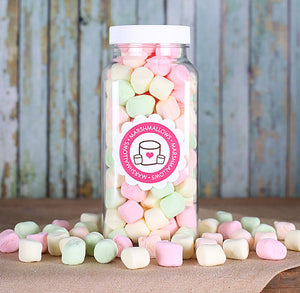 Pastel Mini Marshmallows | www.bakerspartyshop.com