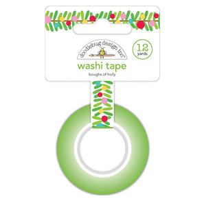 Christmas Washi Tape: Boughs of Holly | www.bakerspartyshop.com