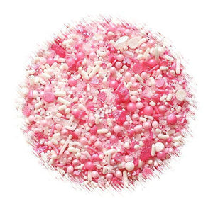 Sprinklefetti Ombre Pink Sprinkle Mix | www.bakerspartyshop.com