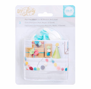 DIY Party Pom Pom Maker | www.bakerspartyshop.com