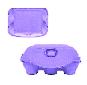 Purple Egg Cartons: 6 Egg | www.bakerspartyshop.com