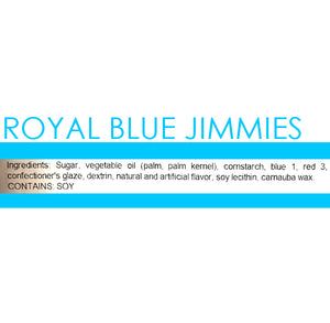 Royal Blue Jimmies Sprinkles | www.bakerspartyshop.com