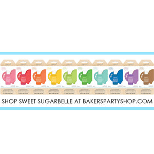 Sweet Sugarbelle Food Coloring: Brown | www.bakerspartyshop.com