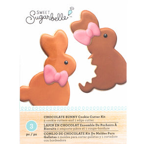 Sweet Sugarbelle Easter Bunny Cutter Set | www.bakerspartyshop.com