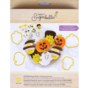 Sweet Sugarbelle Fall Cookie Cutter Kit | www.bakerspartyshop.com
