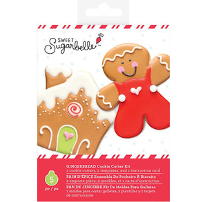 Sweet Sugarbelle Christmas Cookie Cutters: Gingerbread | www.bakerspartyshop.com
