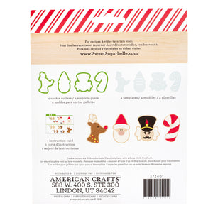 Christmas Cookie Cutter Set: Here Comes Santa by Sweet Sugarbelle | www.bakerspartyshop.com