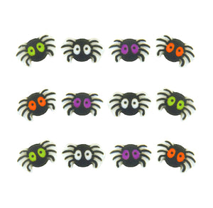 Spider Sugar Toppers | www.bakerspartyshop.com