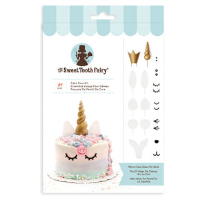 Sweet Tooth Fairy Cake Topper Face Kit | www.bakerspartyshop.com