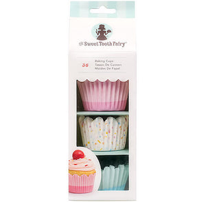 Sweet Tooth Fairy Pastel Cupcake Liners: Large | www.bakerspartyshop.com