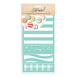 Sweet Sugarbelle Cookie Stencil Set | www.bakerspartyshop.com