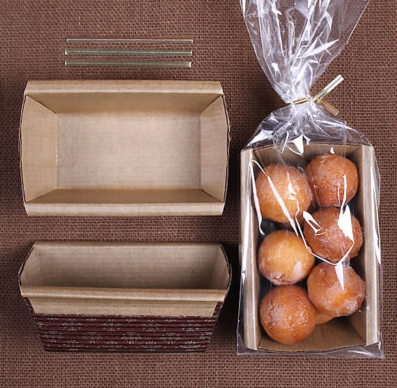 Small Loaf Pan Kit Disposable Loaf Pan Kit Bakers Party