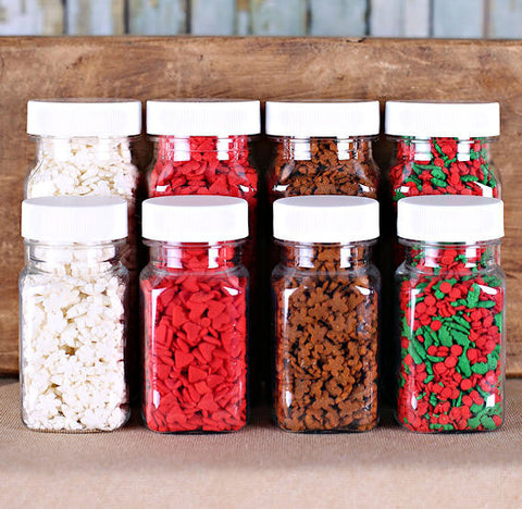 Christmas Quin Sprinkle Set | www.bakerspartyshop.com