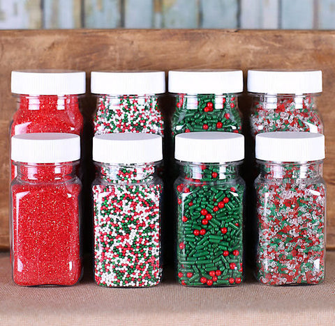 Classic Christmas Sprinkle Set | www.bakerspartyshop.com