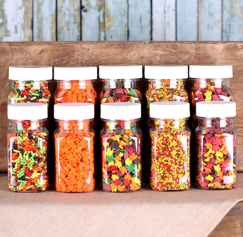 Fall Sprinkle Set | www.bakerspartyshop.com