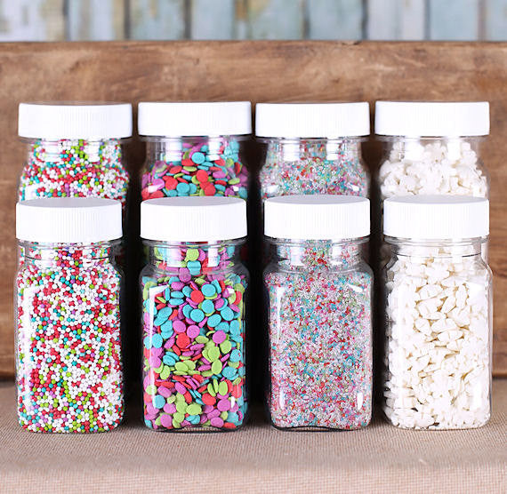 Merry & Bright Christmas Sprinkle Set | www.bakerspartyshop.com