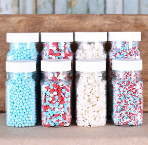 Merry Winter Sprinkle Set | www.bakerspartyshop.com