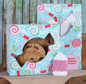 Sweet Christmas Cookie Box Kit | www.bakerspartyshop.com