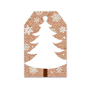 Christmas Tree Gift Tags | www.bakerspartyshop.com