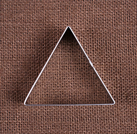 Triangle Cookie Cutter | www.bakerspartyshop.com