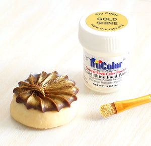 TruColor Gold Shine Food Paint Powder | www.bakerspartyshop.com