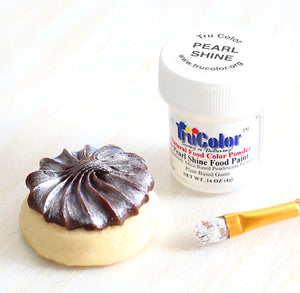 TruColor Pearl Shine Food Paint Powder | www.bakerspartyshop.com