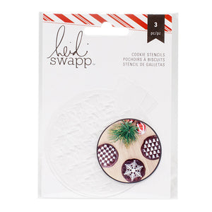 Small Christmas Cookie Stencil Set | www.bakerspartyshop.com