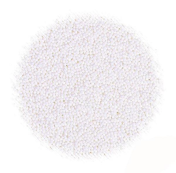 All Natural White Nonpareil Sprinkles | www.bakerspartyshop.com