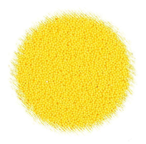 All Natural Yellow Nonpareil Sprinkles | www.bakerspartyshop.com