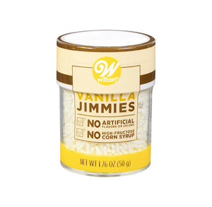 Wilton Natural Sprinkles: White Jimmies