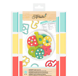 Sweet Sugarbelle Alphabet Cookie Cutter Set - PRE-ORDER | www.bakerspartyshop.com