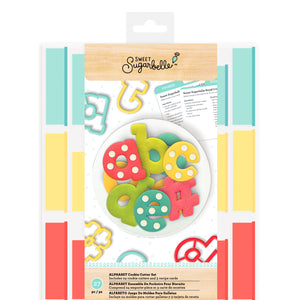 Sweet Sugarbelle Alphabet Cookie Cutter Set | www.bakerspartyshop.com