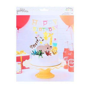 Safari Animals Cake Toppers | www.bakerspartyshop.com