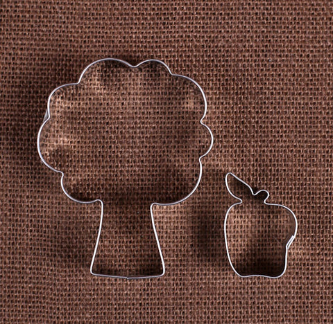 Apple Tree Cookie Cutter Set | www.bakerspartyshop.com