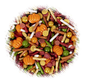Wilton Autumn Sprinkle Mix | www.bakerspartyshop.com