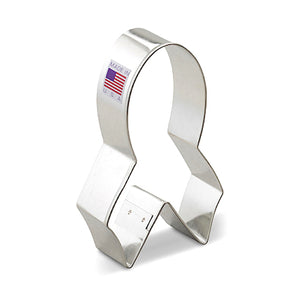 Awareness Ribbon Cookie Cutter | www.bakerspartyshop.com