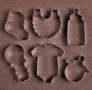 Baby Shower Cookie Cutters Set | www.bakerspartyshop.com
