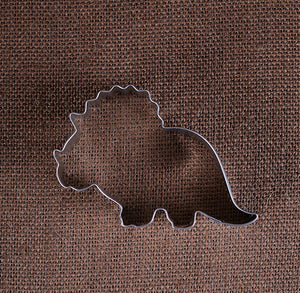 Baby Dinosaur Cookie Cutter: Triceratops | www.bakerspartyshop.com