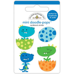 Doodle-Pops Baby Dragon Stickers | www.bakerspartyshop.com
