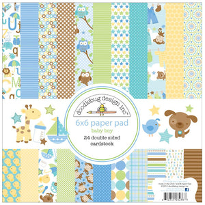 Baby Boy Paper Pad | www.bakerspartyshop.com