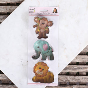 Baby Zoo Animals Cookie Cutters | www.bakerspartyshop.com