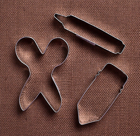 Back to School Cookie Cutter Set | www.bakerspartyshop.com