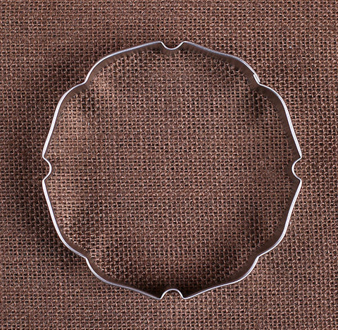 Badge Plaque Round Cookie Cutter | www.bakerspartyshop.com