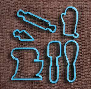 Designer Love of Baking Cookie Cutter Set | www.bakerspartyshop.com