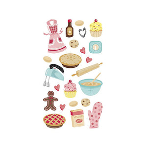 Baking Themed Stickers | www.bakerspartyshop.com