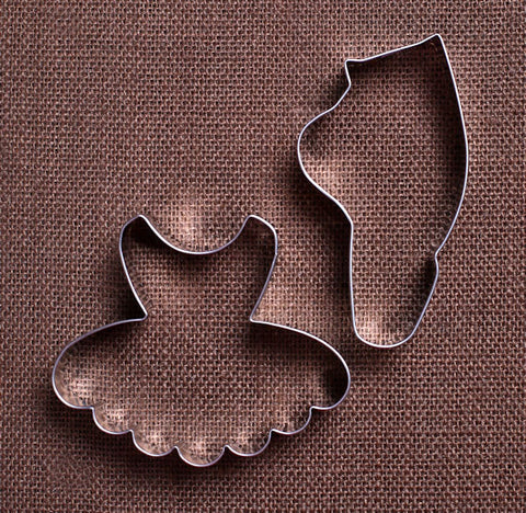 Ballerina Cookie Cutter Set | www.bakerspartyshop.com