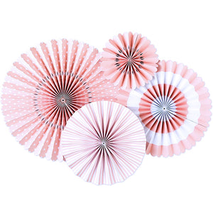 Ballet Pink Party Fans | www.bakerspartyshop.com