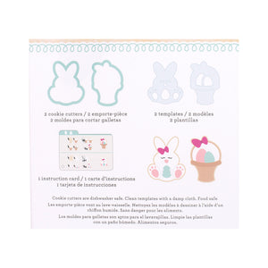 Sweet Sugarbelle Easter Cookie Cutters Set | www.bakerspartyshop.com